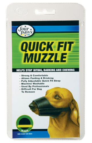 Four Paws Quick Fit Dog Muzzle