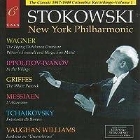 Leopold Stokowski: The New York Philharmonic Columbia (US) Recordings, Volume 1 by Leopold Stokowski (2002-10-29)