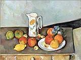 Posterlounge Stampa su Legno 80 x 60 cm: Milk Jug di Paul Cézanne/akg-Images