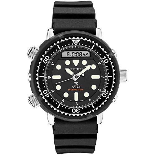 Seiko SNJ025 Prospex Men's Watch Black 47.8mm Stainless Steel