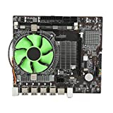CPU Motherboard Set, Desk Top PC Motherboard Set for Intel Xeon X5650 CPU High Air Volume Radiator, Memory Main Board Set Support Zhiqiang Series I7 Quad-core CPU Six-core