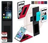 reboon Hülle für Elephone S2 Plus Tasche Cover Case Bumper | Rot | Testsieger
