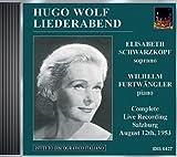 Wolf, H.: Lieder (Schwarkopf) (1953)