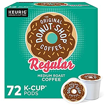 The Original Donut Shop Keurig Single-Serve K-Cup Pods Regular Medium Roast Coffee 72 Count