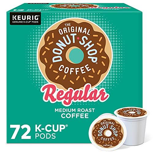 The Original Donut Shop Keurig Single-Serve K-Cup Pods, Regular Medium Roast Coffee, 72 Count