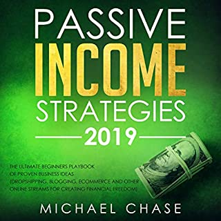 Passive Income Strategies 2019: The Ultimate Beginners Playbook of Proven Business Ideas audiobook cover art