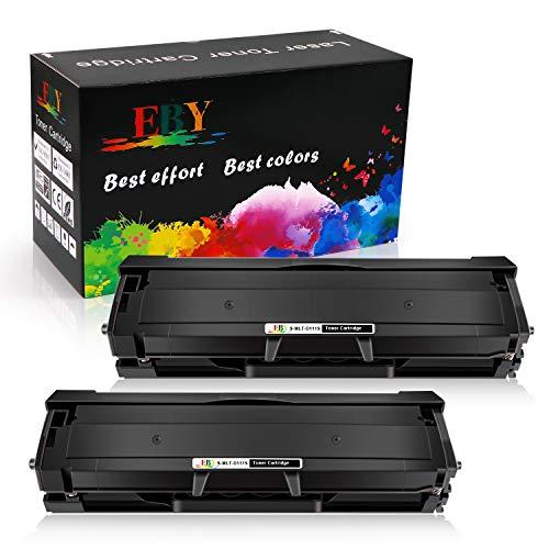 EBY Cartucce Toner Compatibile per D111S MLT-D111L MLT-D111S per Samsung Xpress SL-M2020 SL-M2020W SL-M2022 SL-M2022W SL-M2026 SL-M2026W SL-M2070 SL-M2070F SL-M2070FW SL-M2070W (2 Nero)