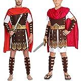 PRETYZOOM Disfraz de Disfraces de Halloween para Hombres Armadura Medieval Soldado Centauro Romano Adulto- Gladiador Creativo de Halloween Ropa para Adultos Romanos Antiguos para