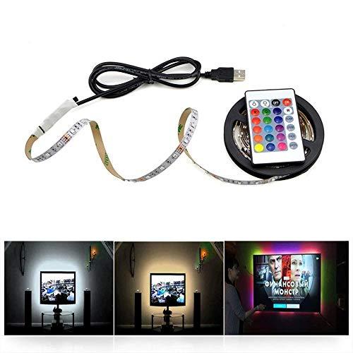 HVTKL Kabinet LED lampjes zijn niet waterdicht 3528 RGB/wit/warm wit LED-lamp 5m strip steekt keuken TV backlight tape HVTKL (Color : Warm White, Power : 5M)