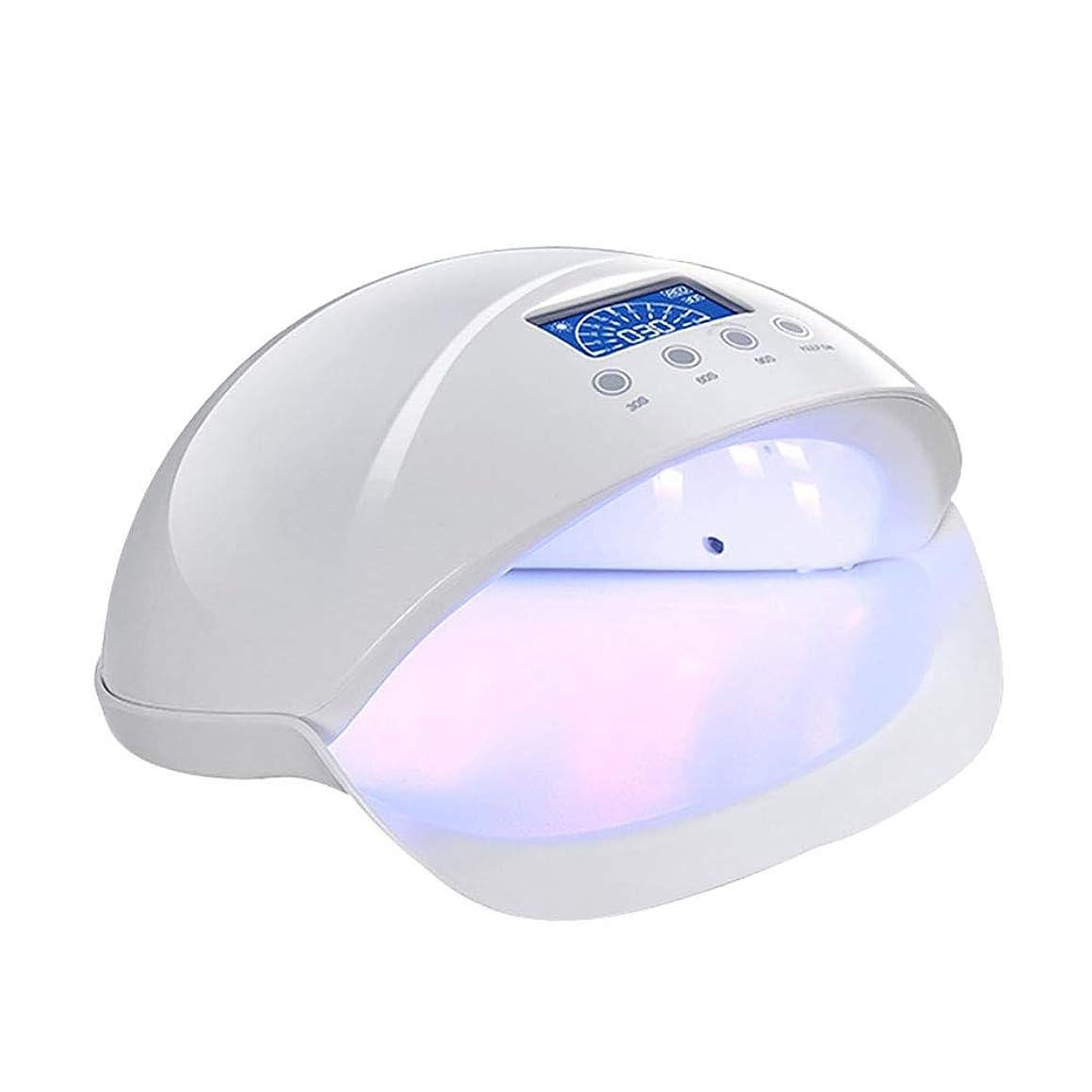 寛容杭読書釘のドライヤー - 自動赤外線センサー、二重光源のLEDランプのゲルのドライヤーのマニキュアが付いている紫外線携帯用LEDの釘ランプ