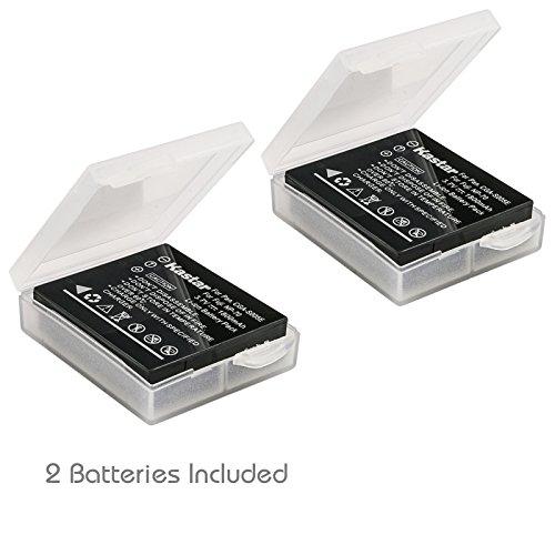 Kastar Battery (2-Pack) for Panasonic Lumix CGA-S005, CGA-S005A/1B, CGA-S005E, CGA-S005GK, DMW-BCC12 and DE-A12 work with Panasonic Lumix DMC-FS1, DMC-FS2, DMC-FS2, DMC-FX01, DMC-FX07, DMC-FX1, DMC-FX3, DMC-FX7, DMC-FX8, DMC-FX9, DMC-FX10(FX10GK), DMC-FX12, DMC-FX50, DMC-FX100, DMC-FX150, DMC-FX180, DMC-LX1, DMC-LX2, DMC-LX3 Cameras