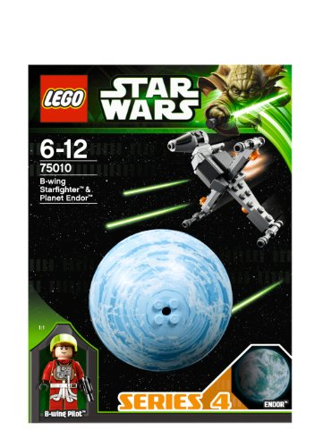 LEGO STAR WARS - Planetas: B-Wing Starfighter & Planet Endor (75010)