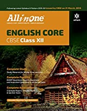 All In One ENGLISH CORE CBSE Class 12 2019-20