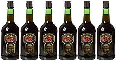 QC Cream British Fortified Wine 70 cl, Case of 6