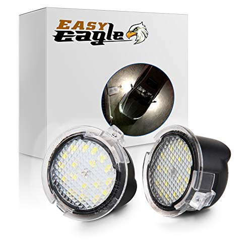 Easy Eagle Full LED Side Under-Mirror Puddle Light Assembly Replacement For Ford...