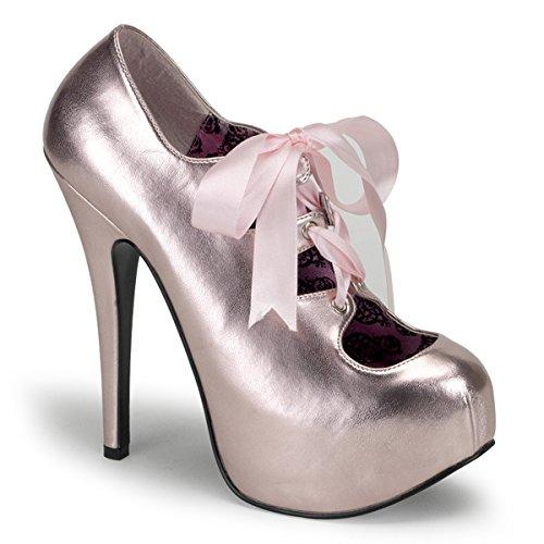 Bordello Damen TEEZE-09 Plateau High Heels Pumps Baby Pink 38 EU