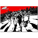 Printing Pira - Persona 5 Steel Book Art Official Poster PS 4 Game (11x17)