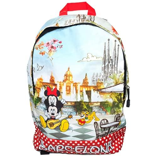 Zaino Disney Bambini Scuola Elementare Scolari 4 to 10 Anni Topolino Micky Mouse
