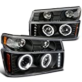2004-2012 CHEVY COLORADO PROJECTOR HEADLIGHTS 4PC COMBO