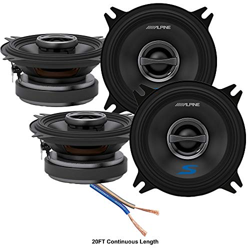 alpine audio speakers Alpine S-S40 Car Audio Type S Series 4