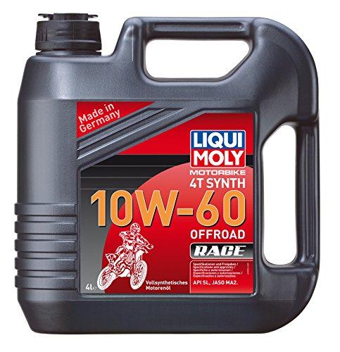 LIQUI MOLY 3054 Motoröl 4T Synth Offroad Race 10W-60, 4 L