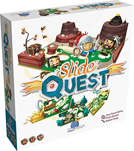 Blue Orange (Asmodee ) BLOD0060 - Slide Quest, Kinder-Spiel, Deutsch