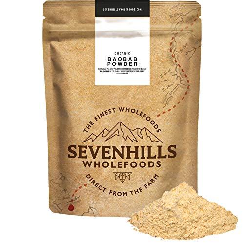Sevenhills Wholefoods Baobab-Pulver Bio 500g
