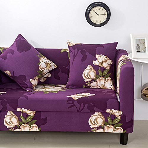 Allenger Cubierta para sofá con Cuerda de fijación,Funda de sofá con Estampado elástico, Funda de sofá con Todo Incluido, Protector de sofá-A4_235-300cm