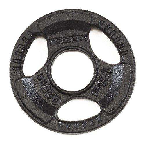toorx disco ghisa nero kg 1.25 diam.50 mm