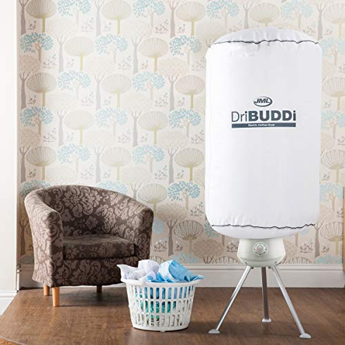 DriBUDDi: Portable Energy-Efficient Indoor Electric Clothes Dryer - White