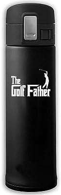 ステンレスマグカップゴルフバウンスカバー断熱材真空カップボトルサーモスマグカップブラック