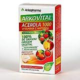 Arkopharma Arkovital Acerola 1000 Vitamina C Fortificante&Tonificante Comprimidos, 30Uds, único