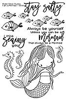 Mermaid Transparent Clear Stamps Scrapbook Paper Craft Clear stamp scrapbooking A0602
