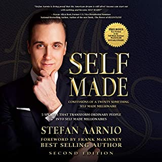 Self Made: Confessions of a Twenty Something Self Made Millionaire audiobook cover art