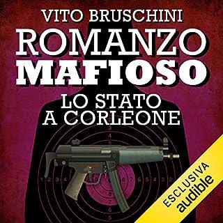 Romanzo mafioso. Lo stato a Corleone copertina