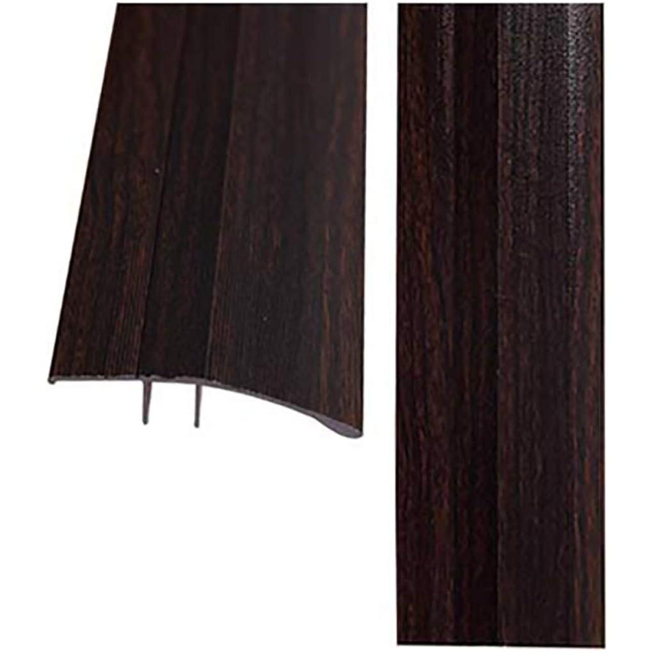 魅力鋭く強制的しきい値ストリップ しきい値アルミニウム合金高低バックル斜辺セラミックタイル木製の床ドアストリップブランキングストリップ (色 : A7)