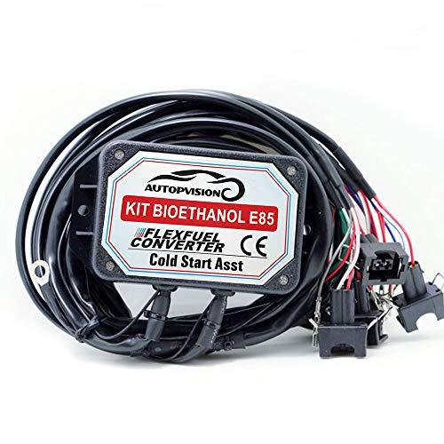 Kit de Conversion Ethanol E85 6-cylindres (D Connecteur-Bosch EV1)
