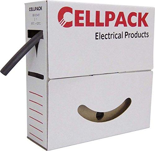 Cellpack Schrumpfschlauch SB 6.4-3.2 sw in Abrollbox 10m Schrumpfschlauch 4010311001173