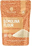 Semolina Flour 2lbs / 32oz, Fine Semolina Flour for Pasta, Pizza Dough, Cake Flour and Bread Flour, 100% Fine Ground All-Natural Durum Wheat From CANADA.