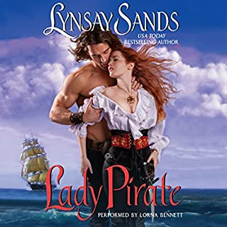 Lady Pirate audiobook cover art