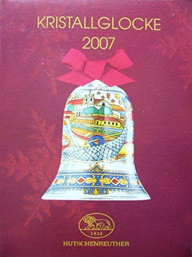 Hutschenreuther cristallo campana{2007}, Natale campana, vetro campana, vetro campana, cristallo campana