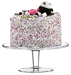 ✓ HANDCRAFTED SMALL CAKE STAND- handmade glassware collection. Great for small cakes and pastries ✓ CAKE OR CUPCAKE STAND- suitable for variety of cupcakes, muffins, or small cakes for home, office space, wedding, café, pub or restaurant ✓ GIFT IDEA ...