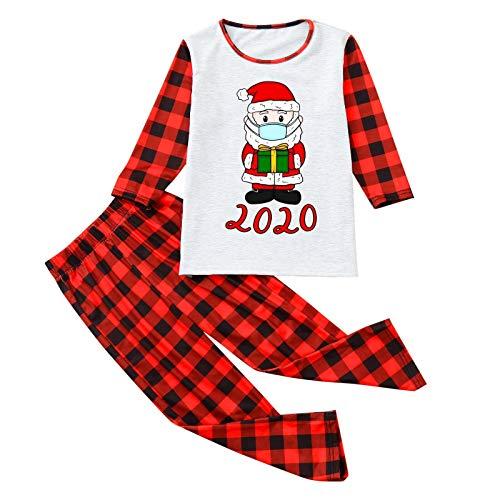IFOUNDYOU Damen Männer Papa Weihnachts Familie Pyjamas Familien-Kleidungs-Set...
