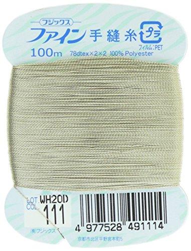 フジックス ファイン 【手縫い糸】 #40 100m col.111