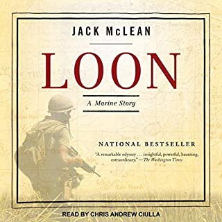 Loon     A Marine Story              Written by:                                                                                                                                 Jack McLean                               Narrated by:                                                                                                                                 Chris Andrew Ciulla                      Length: 7 hrs and 29 mins     Not rated yet     Overall 0.0