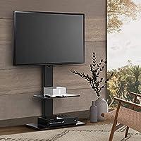 "Artiss TV Stand Floor Standing TV Mount Bracket Shelf for 32"" to 70"" Screen Universal ±35° Swivel Adjustable Height Home..."