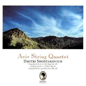 Dimitri Shostakovich: String Quartet No. 10, Op. 118 / String Quartet No. 1, Op. 49 / String Quartet No. 13, Op. 138