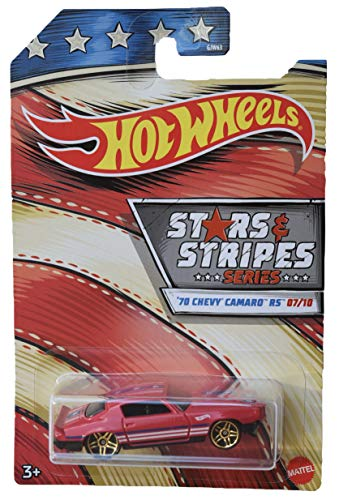 Hot Wheels '70 Chevrolet Chevy Camaro RS Stars & Stripes Series 1:64