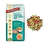 iXium Mr Johnsons Supreme Hamster and Gerbil Mix Muesli Mealworm Fibre Food 900g