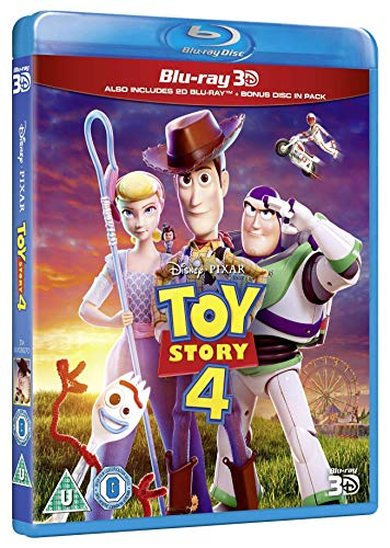Disney & Pixar's Toy Story 4 [Blu-ray + 3D] [2019] [Region Free]